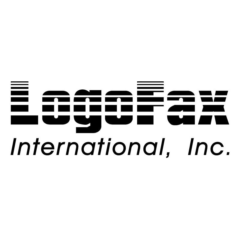 LogoFax International, Inc vector logo