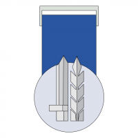 Medal for Distinguished Service vector