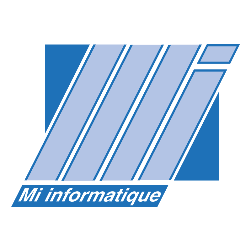 Mi informatique vector