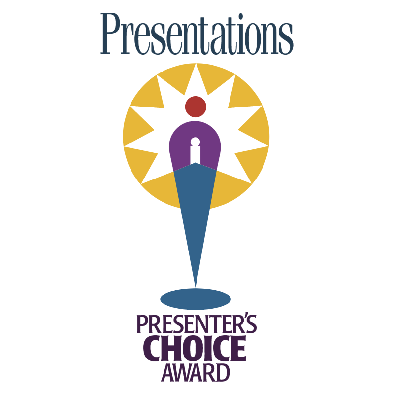 Presenter's Choice Award vector