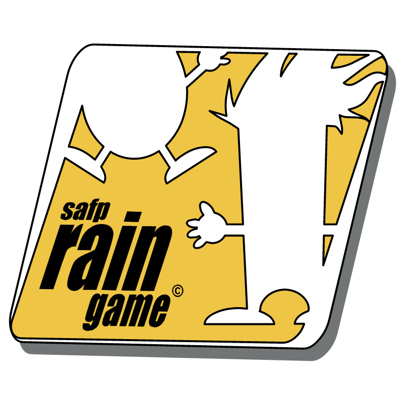 Rain Game vector logo