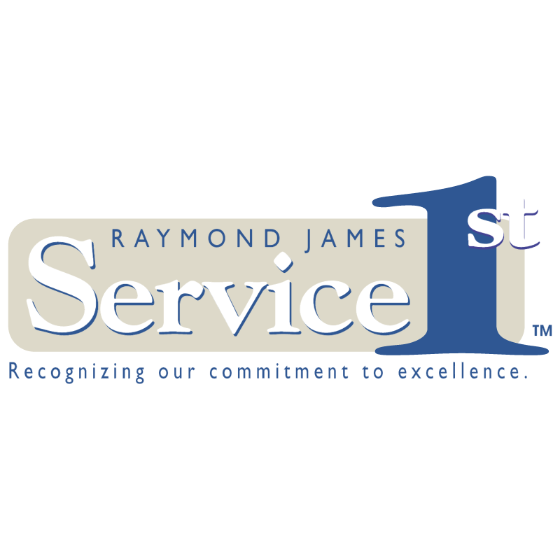 Raymond James Service 1st vector