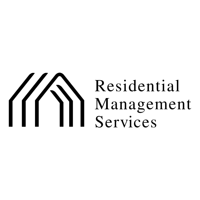 Residential Management Services vector