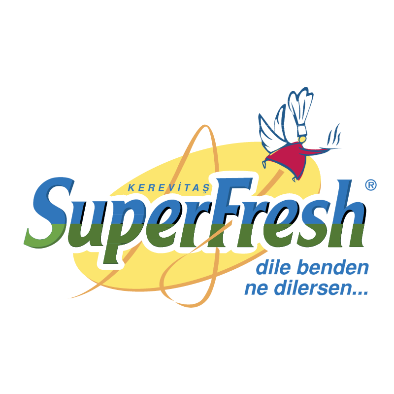 SuperFresh vector logo