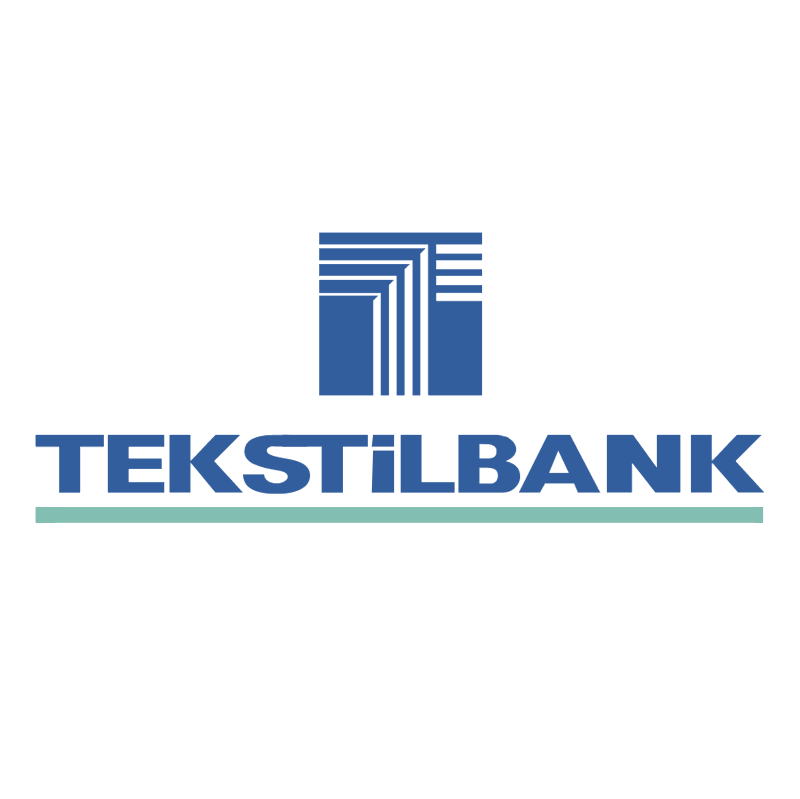 Tekstil Bank vector logo