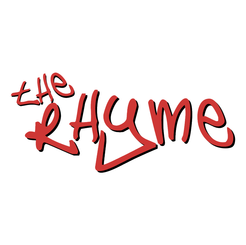 The Rhyme vector logo