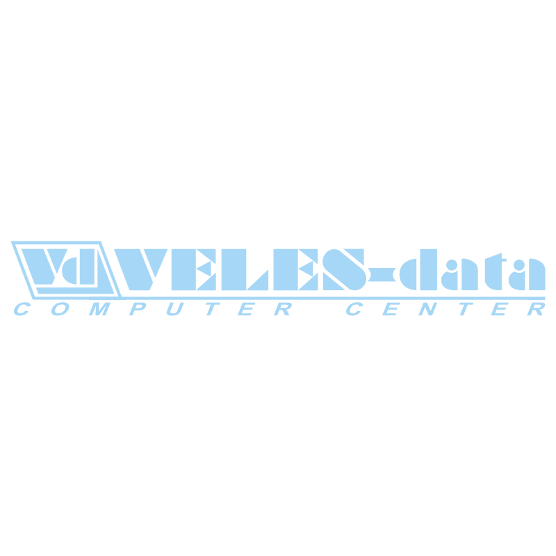 Veles data vector logo