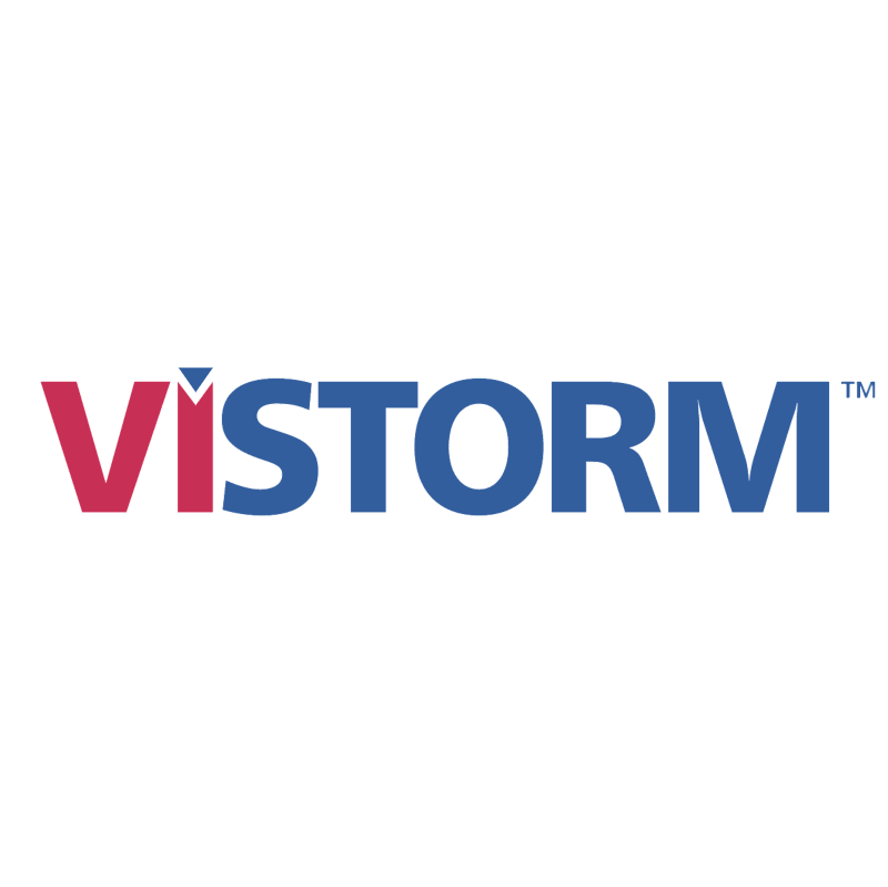 Vistorm vector logo