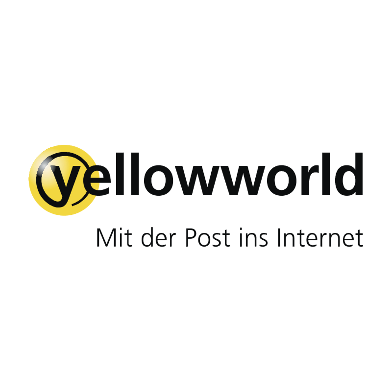 Yellowworld vector logo