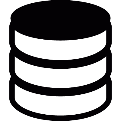 Stack of coins vector logo