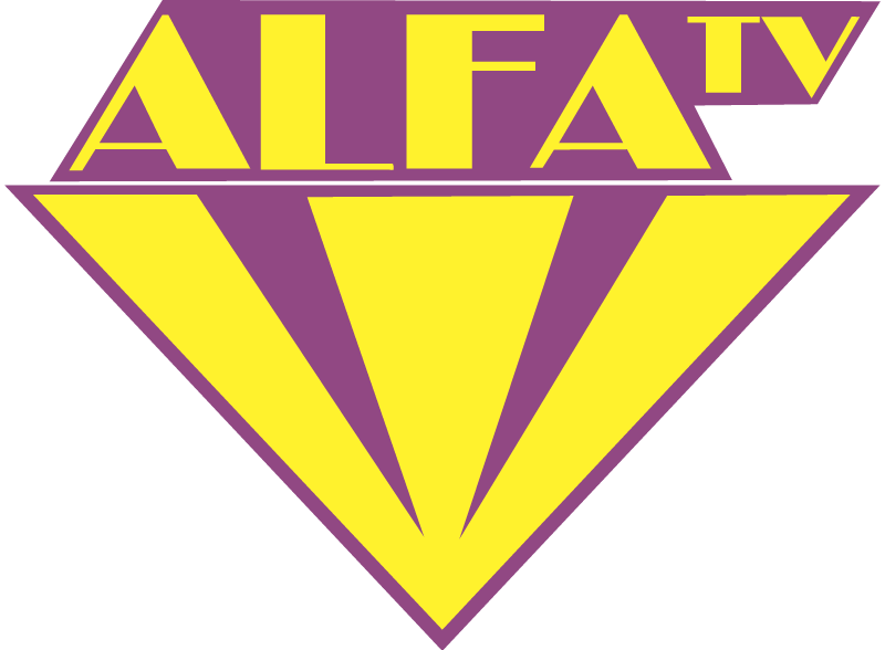 Alfa TV vector logo