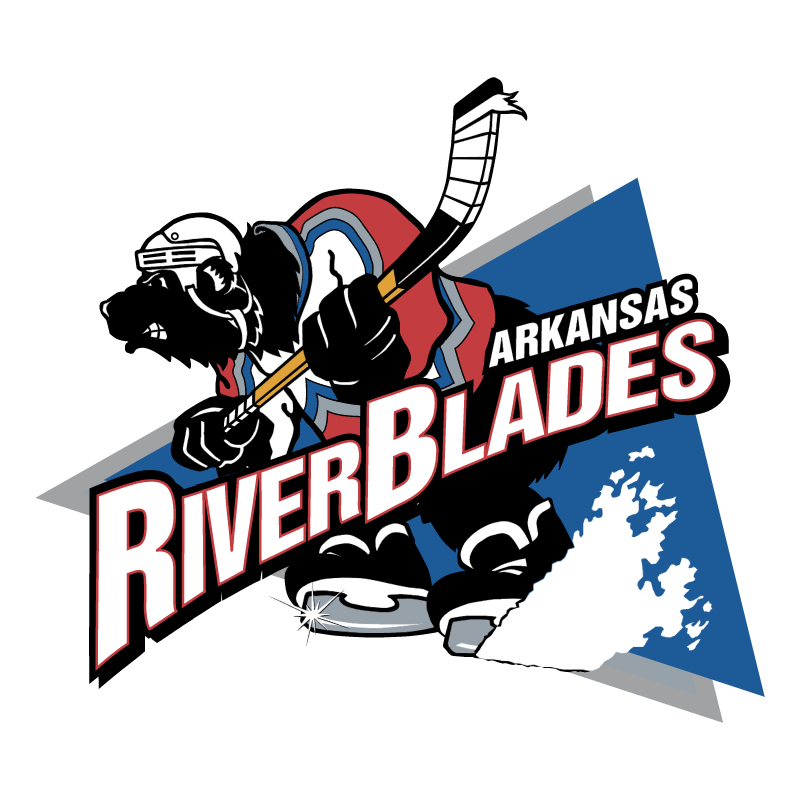 Arkansas RiverBlades vector logo