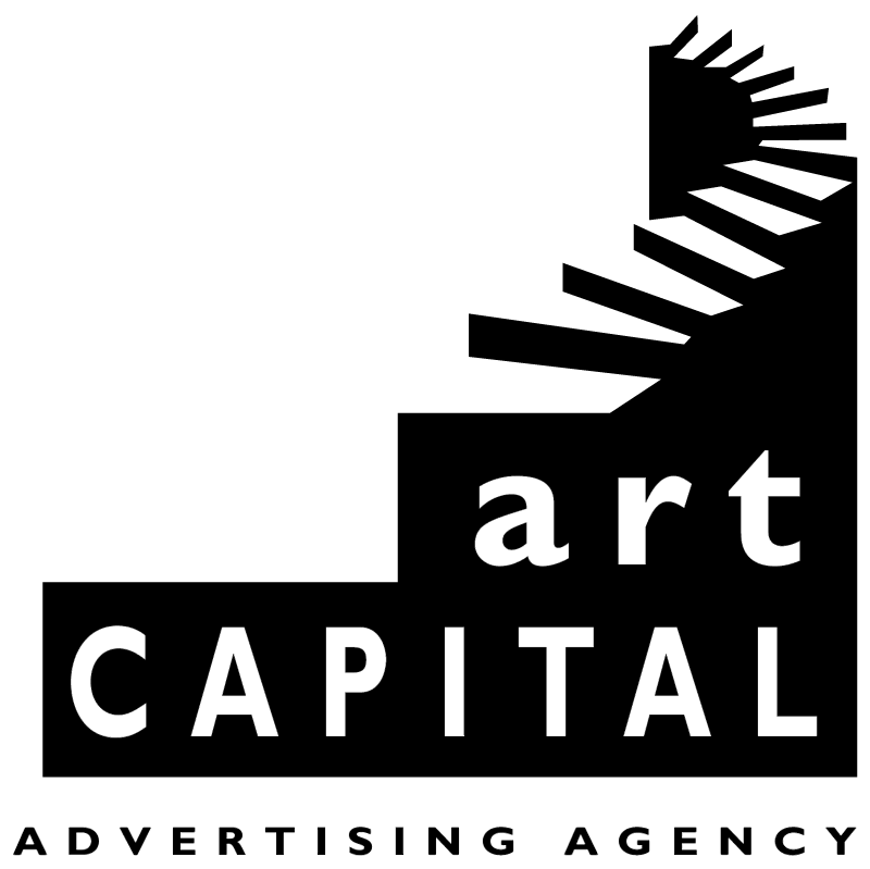 Art Capital vector logo