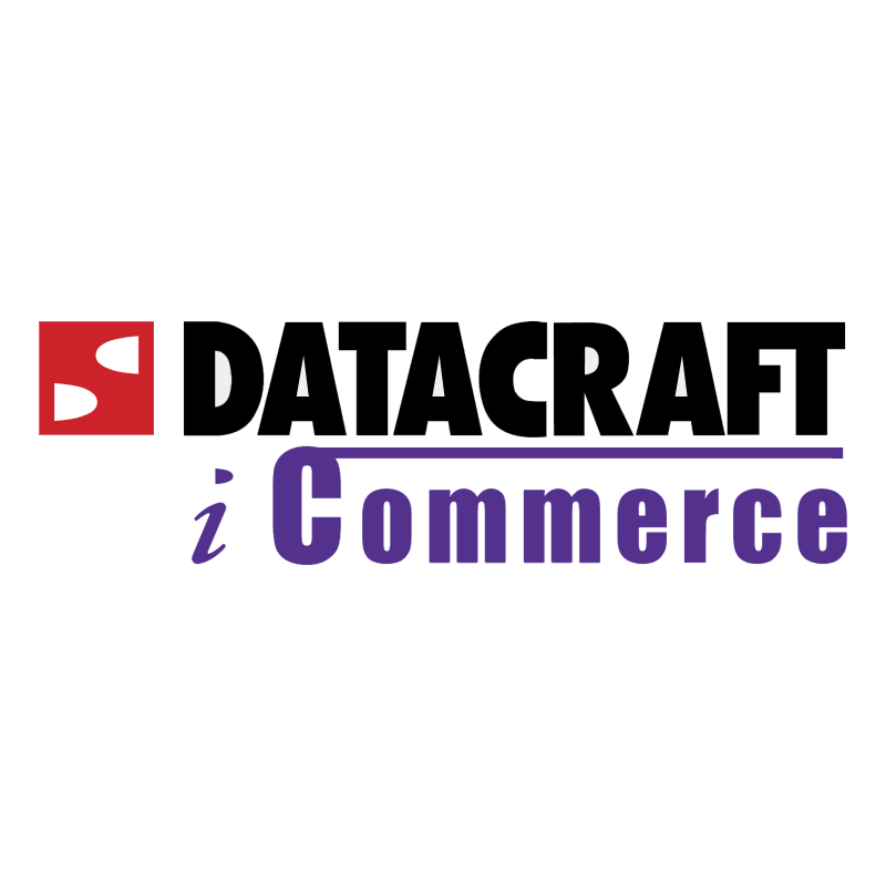 Datacraft iCommerce vector logo