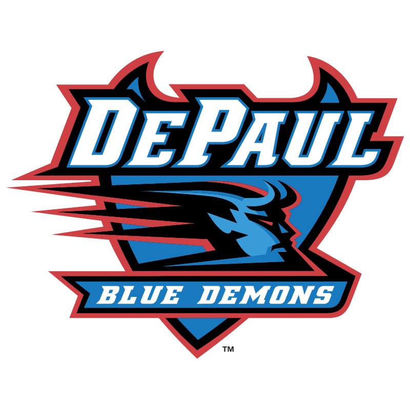 DePaul Blue Demons vector logo