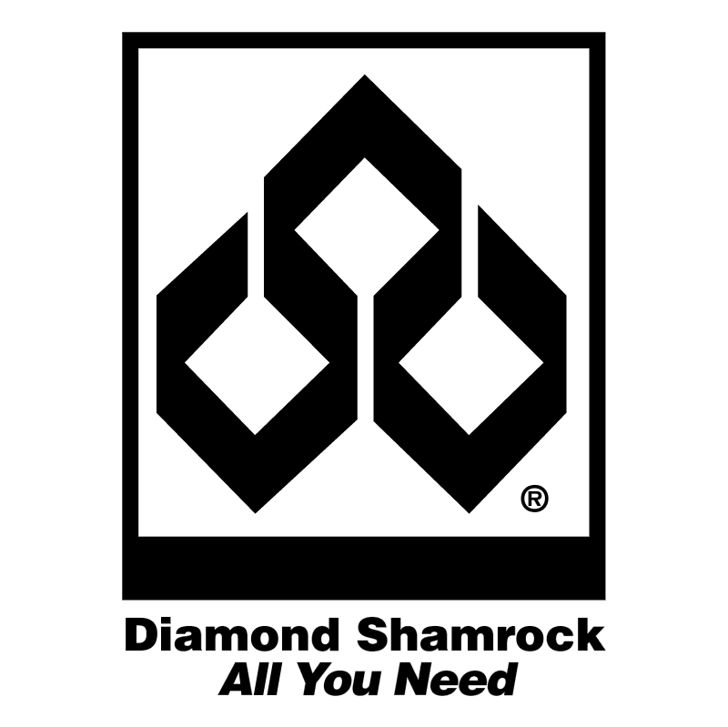 Diamond Shamrock vector