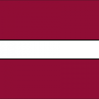 latvia f vector