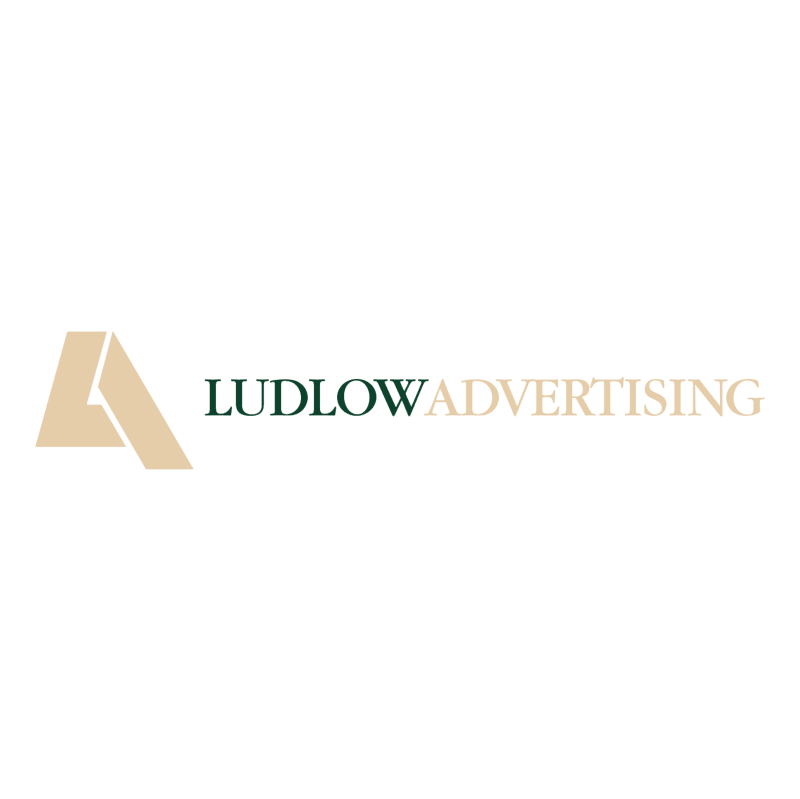 Ludlow Advertising vector