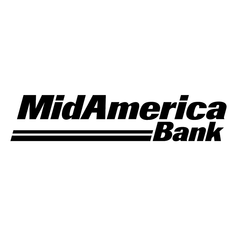 MidAmerica Bank vector