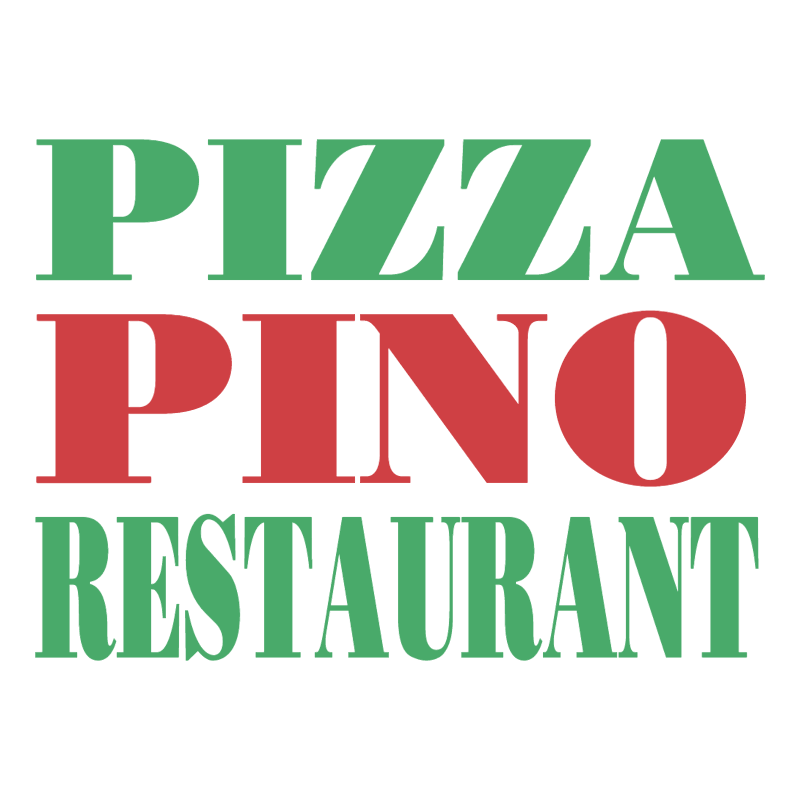 Pizza Pino Restaurant vector