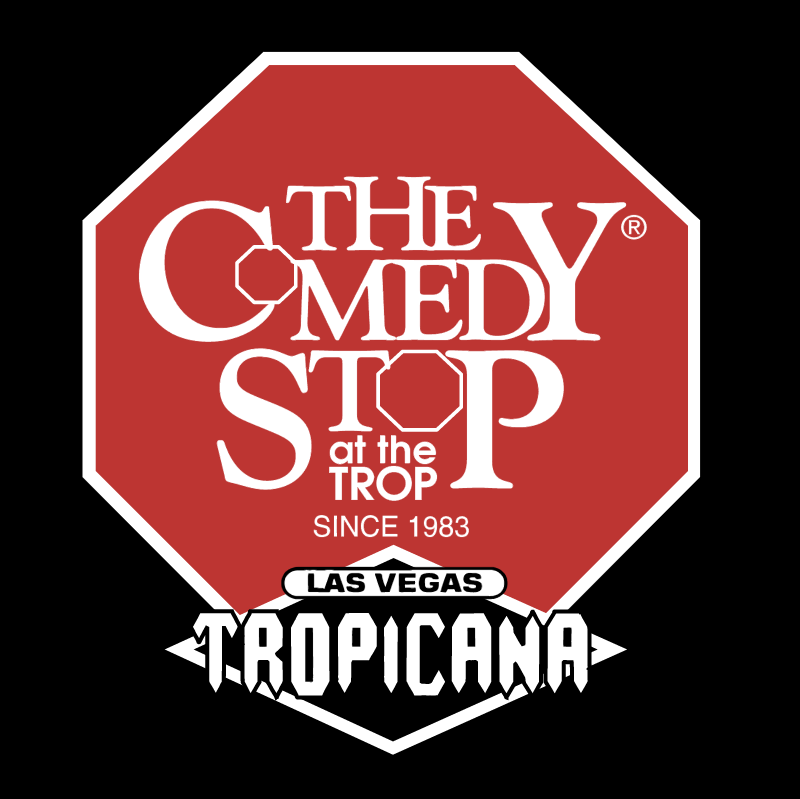 The Comedy Stop at the Trop vector