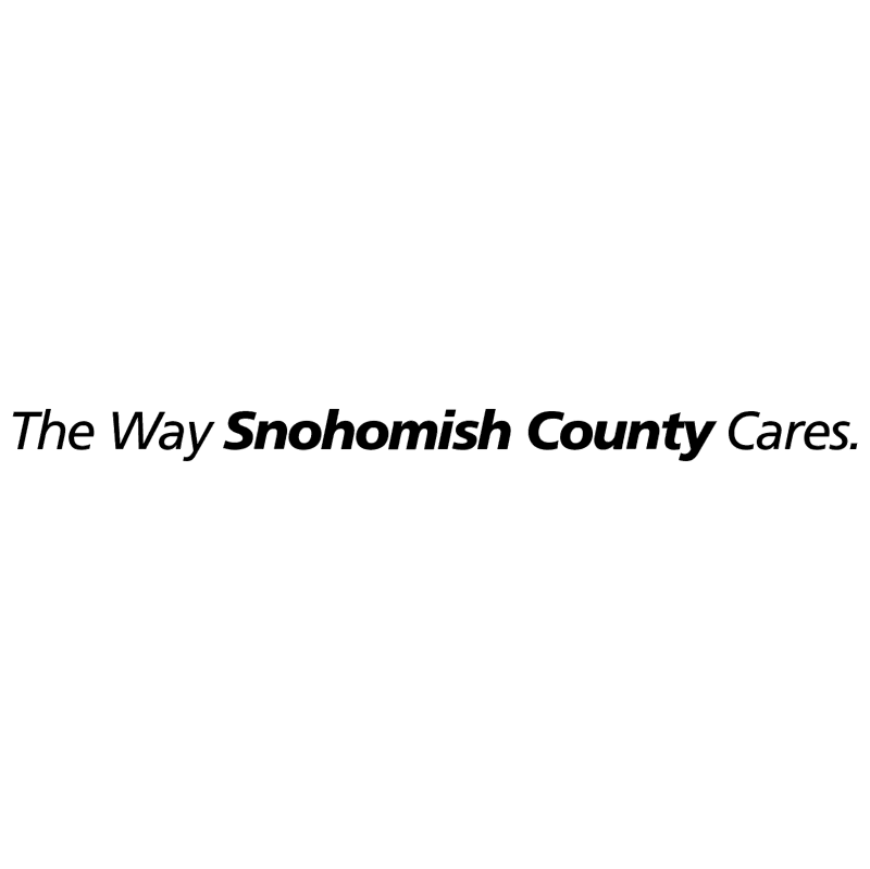 The Way Snohomish County Cares vector logo