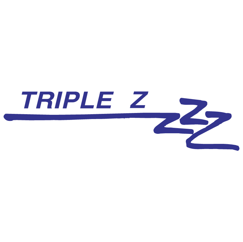 Triple Z vector logo