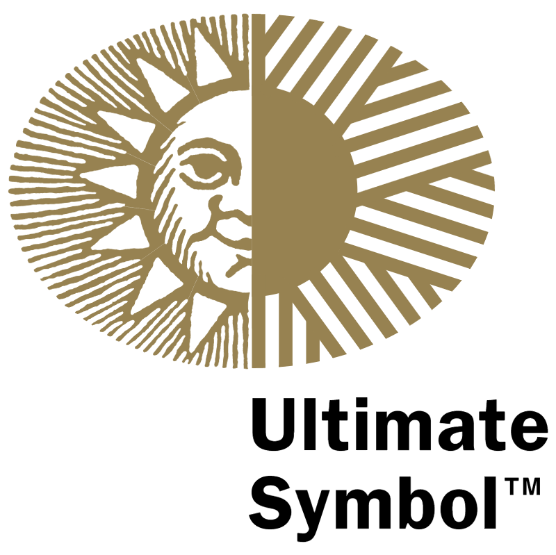 Ultimate Symbol vector logo