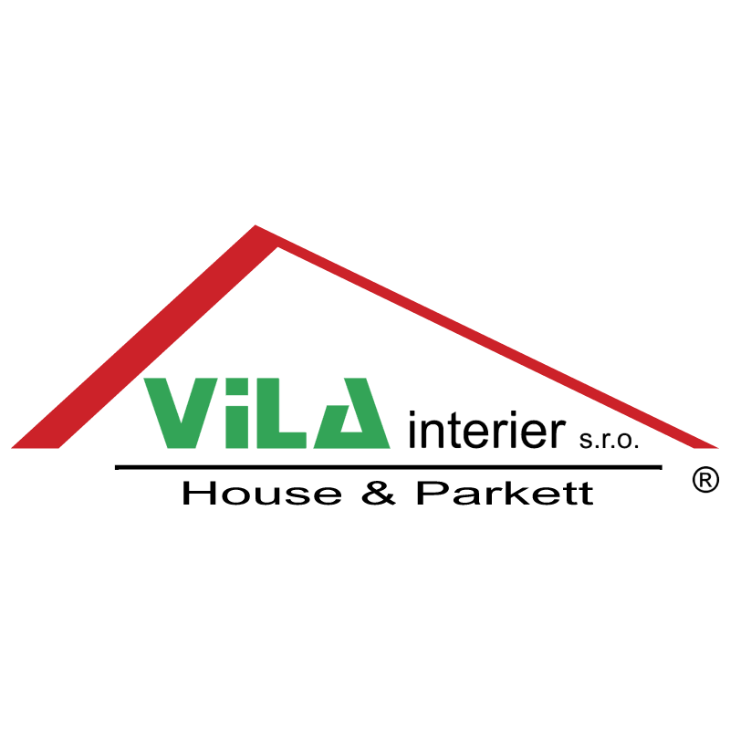 Vila Interier vector logo
