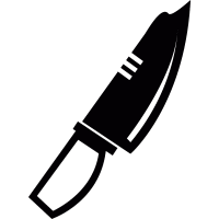 Military Knife vector