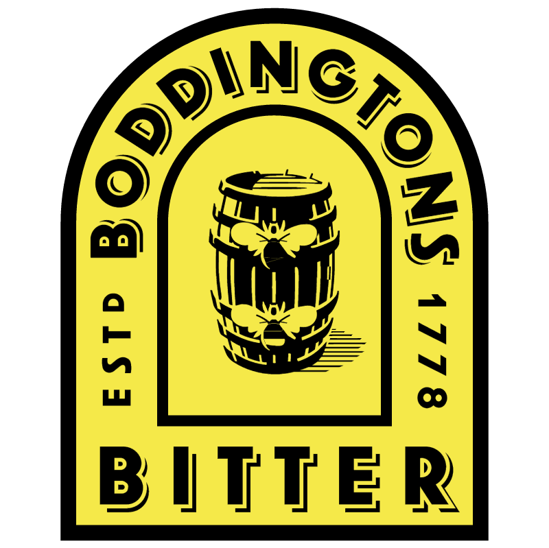 Boddingtons Bitter 910 vector