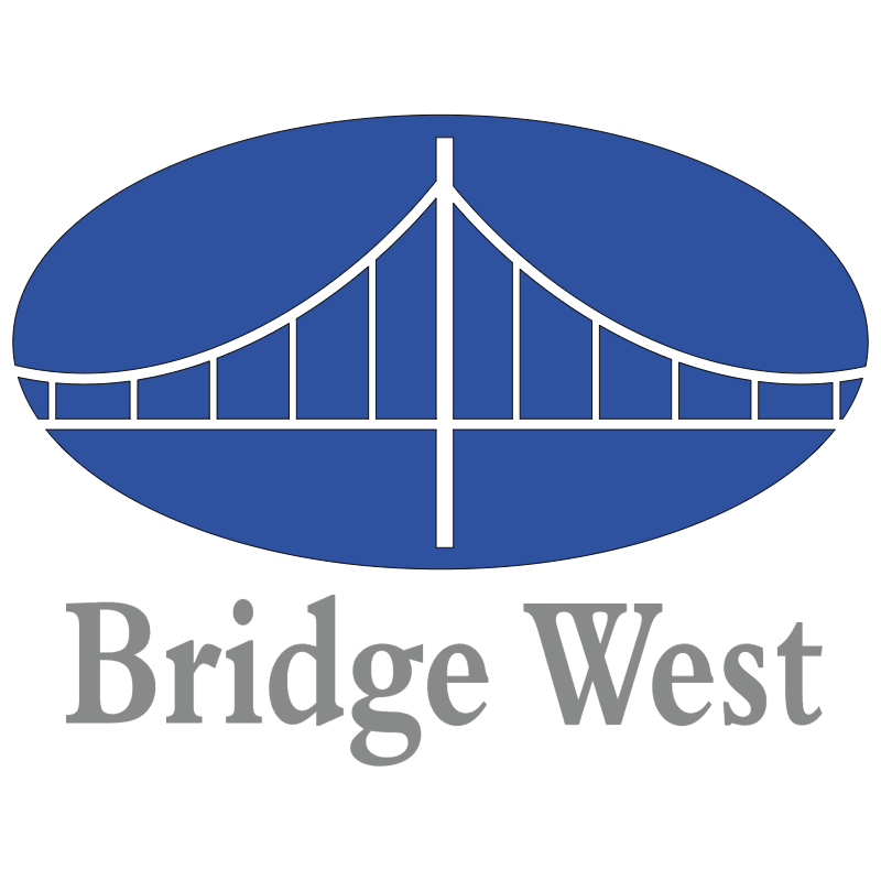 Bridge West 12455 vector