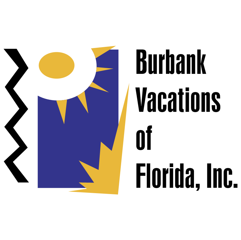 Burbank Vacations 12462 vector logo
