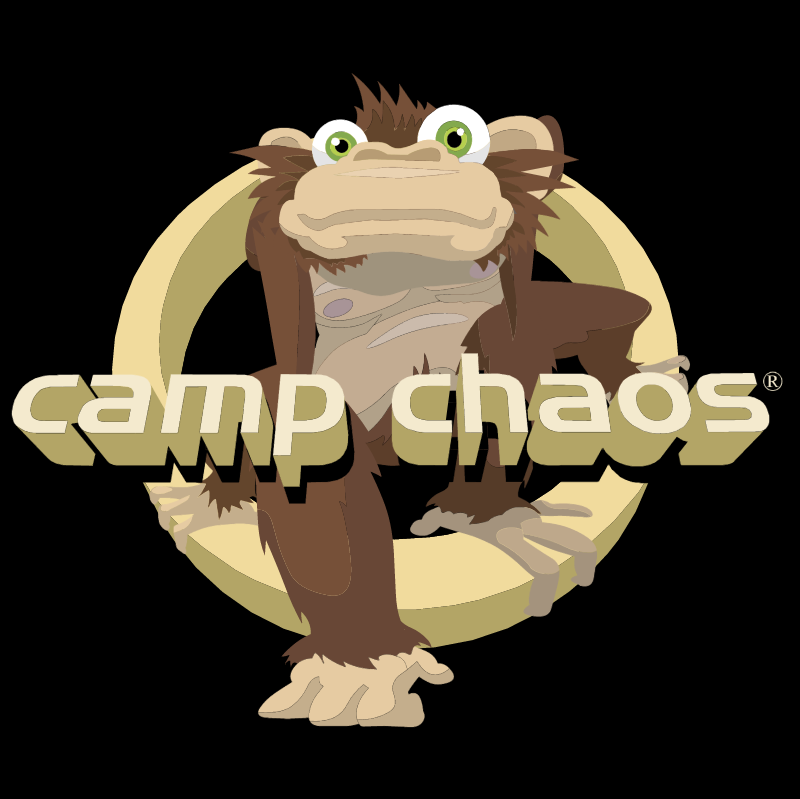 Camp Chaos vector logo