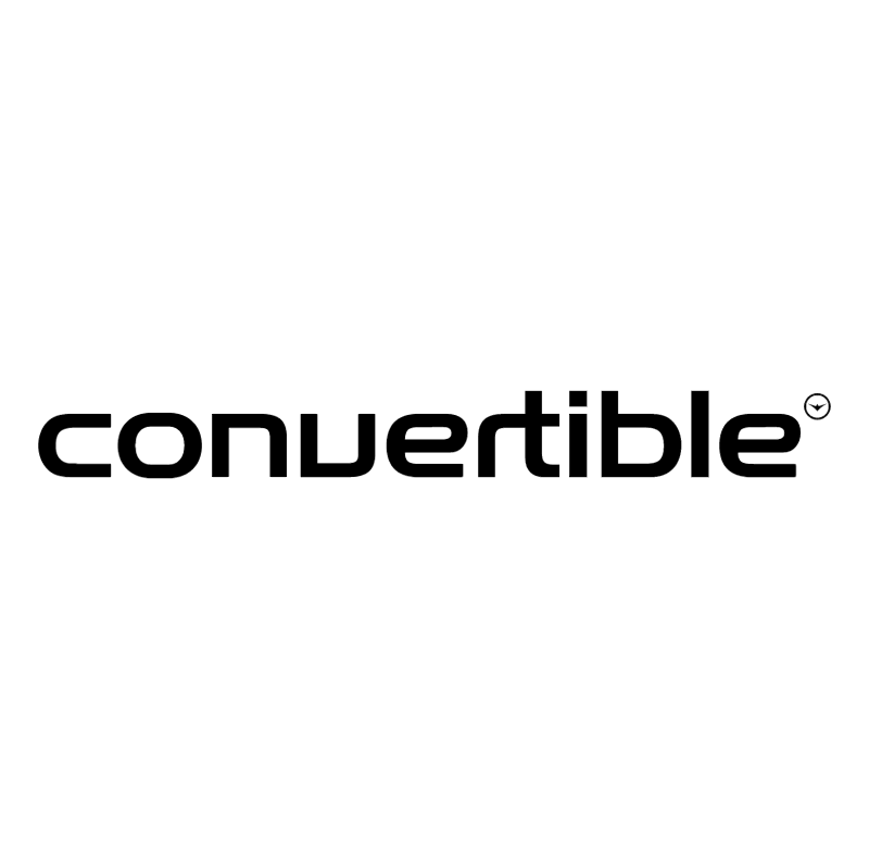 Convertible vector logo