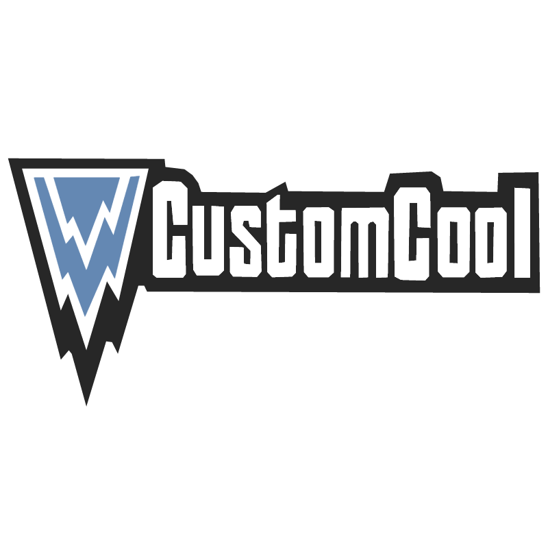 CustomCool vector logo