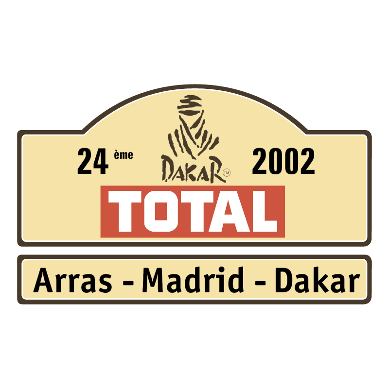 Dakar Rally 2002 vector logo