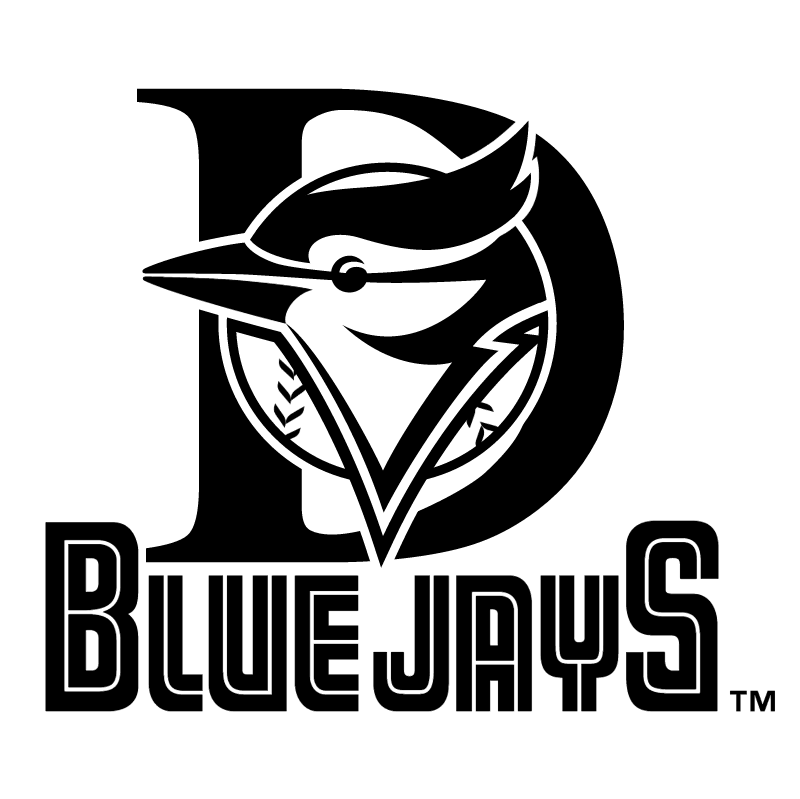 Dunedin Blue Jays vector logo