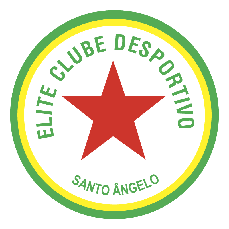 Elite Clube Desportivo de Santo Angelo RS vector