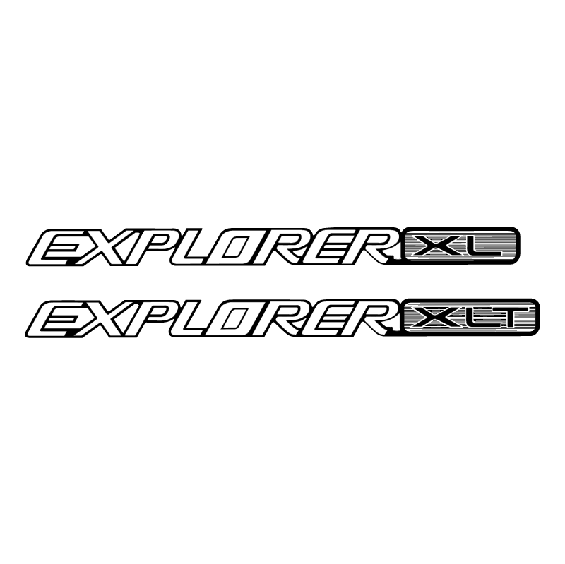 Explorer XL vector logo