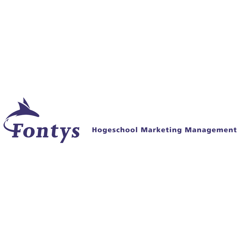 Fontys Hogeschool Marketing Management vector
