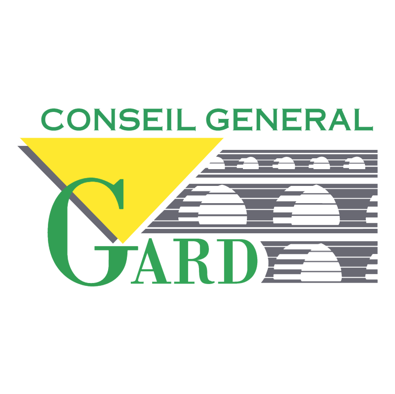 Gard Conseil General vector