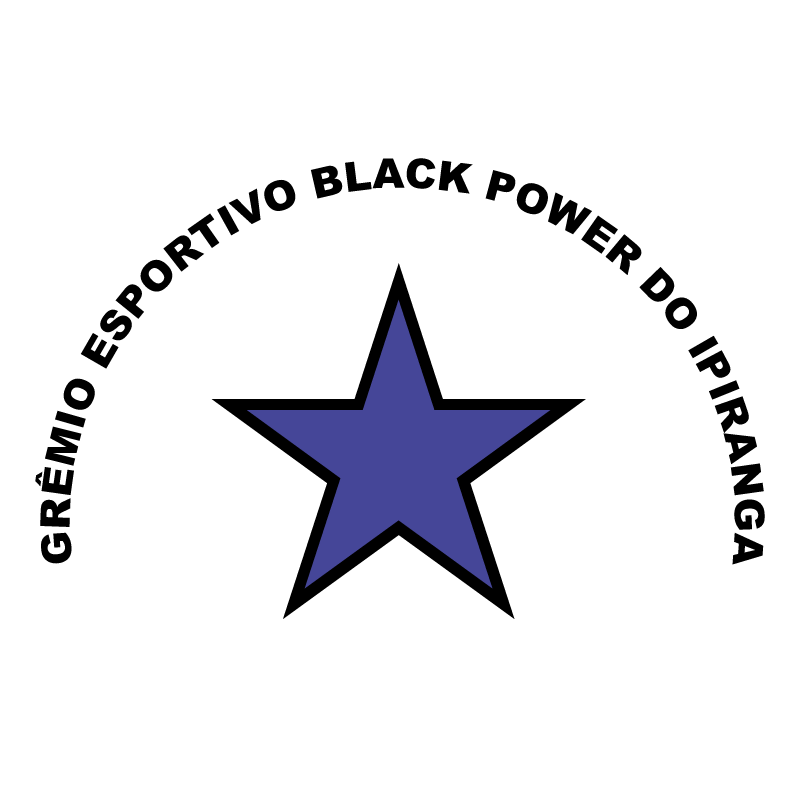 Gremio Esportivo Black Power de Sao Paulo SP vector