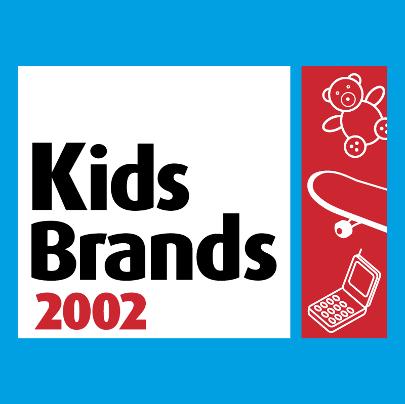 Kids Brands 2002 vector