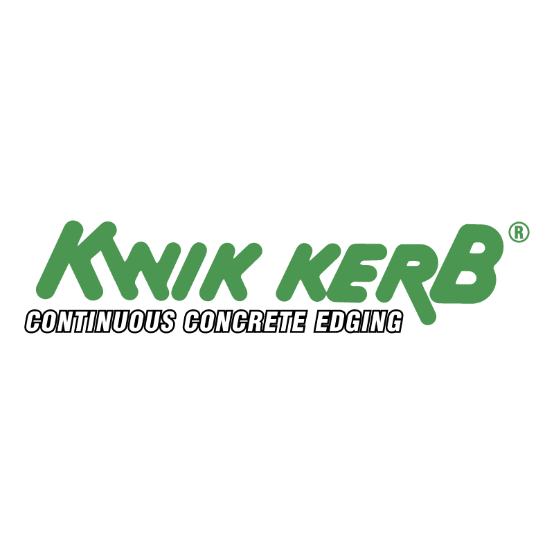 Kwik Kerb Concrete Edging vector