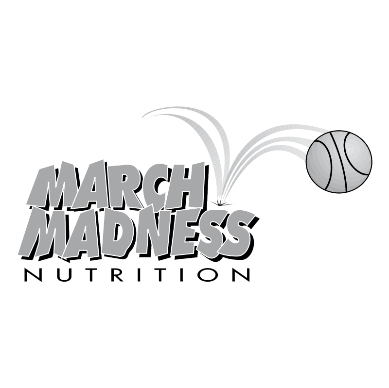 March Madness Nutrition vector logo