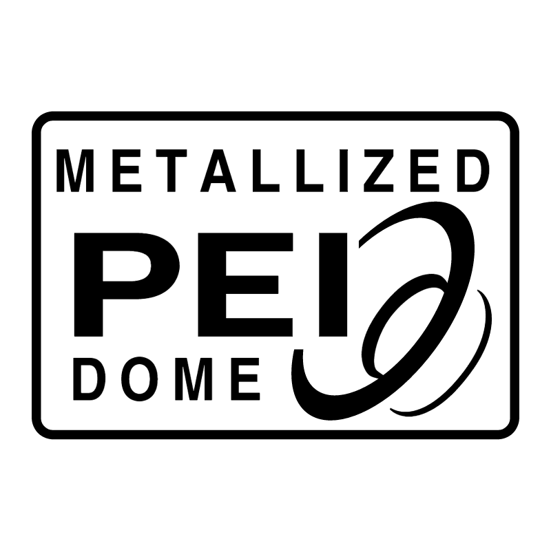 Metallized PEI Dome vector