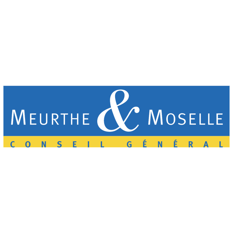 Meurthe & Moselle Conseil General vector