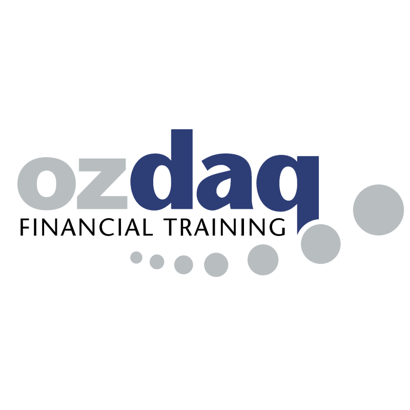 Ozdaq Financial Training vector