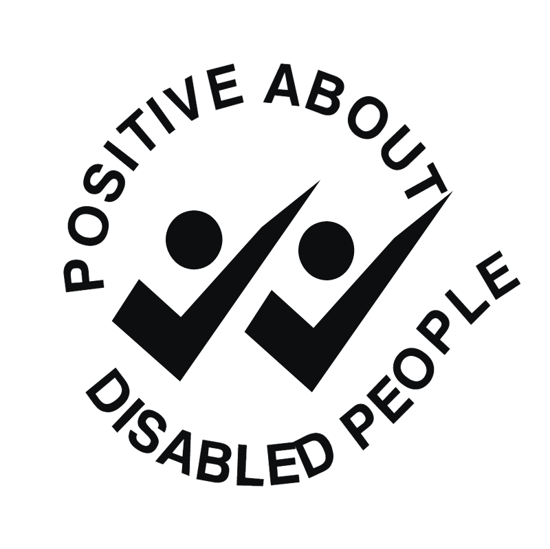 Positive About Disabled People vector